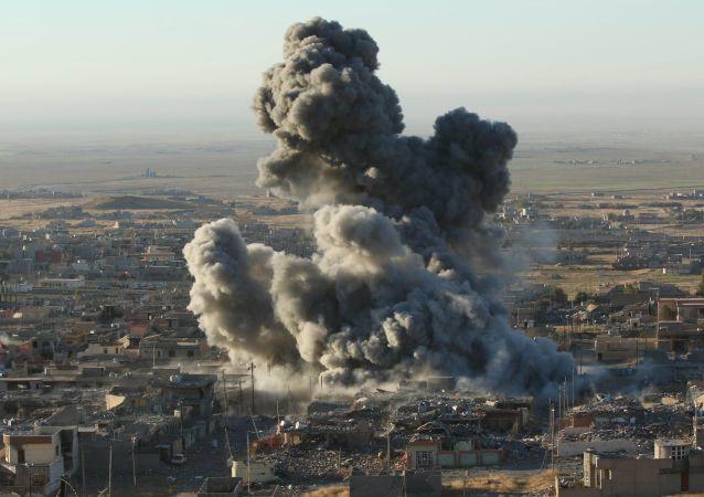 """IS领导人的""""右手"""" 在伊拉克空袭中被打死"""