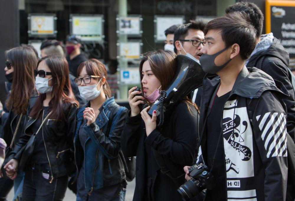 在巴黎的华侨代表抗议活动与法国警方于3月26日射杀一名中国人有关。