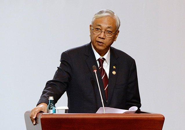 缅甸总统廷觉