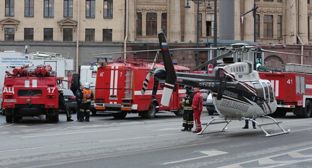 圣彼得堡地铁发生爆炸,有人员伤亡