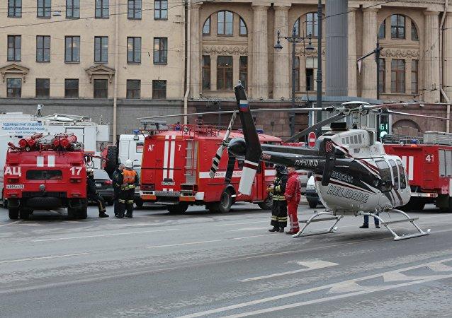 圣彼得堡副市长:又一名该市地铁爆炸伤者在医院去世