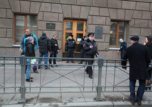 中国央视:没有中国公民在圣彼得堡地铁爆炸中伤亡