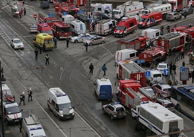 俄国家反恐委员会:圣彼得堡地铁爆炸导致9死20余伤