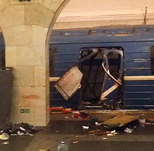 """媒体:激进团伙""""伊玛目沙米勒大队""""声称对圣彼得堡恐袭负责"""