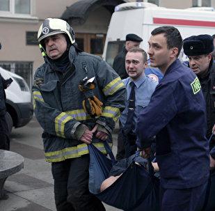 圣彼得堡地铁爆炸