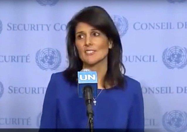 美国常驻联合国代表妮基·黑莉