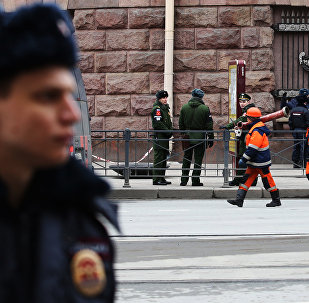 俄侦查员搜查圣彼得堡恐袭案嫌犯住所
