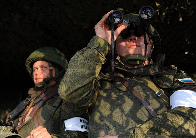 """俄国防部:俄蒙""""色楞格2017""""联合军演将于今年8月举行"""