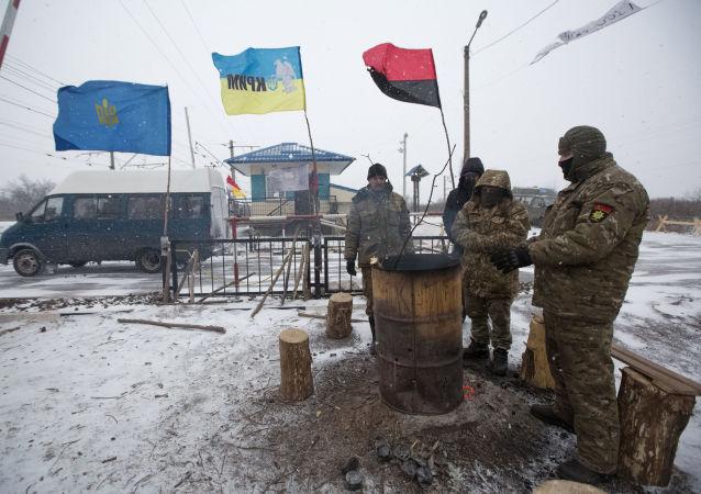 克里姆林宫:普京称乌当局必须尽快解除对顿巴斯的封锁
