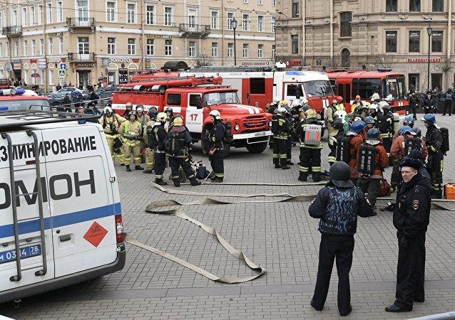 """""""伊斯兰国""""在圣彼得堡招募恐怖分子的首名嫌疑人已经被逮捕"""