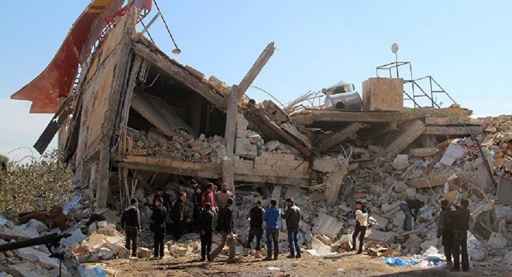 敘利亞伊德利卜爆炸事件導致28人死亡