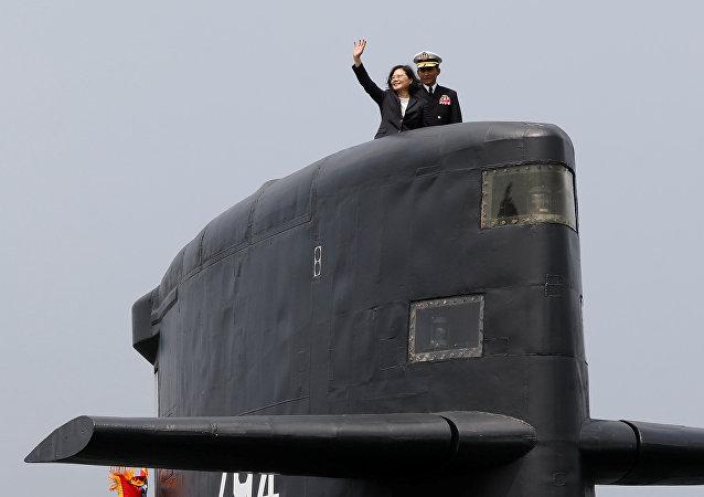 台湾计划自造8艘潜艇