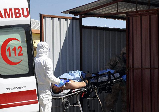 土卫生部长:将在海牙研究伊德利卜化武攻击遇难者尸检报告