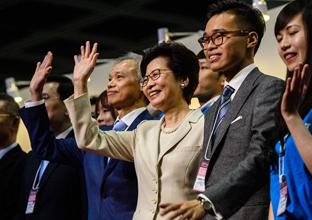 香港特别行政区候任行政长官林郑月娥