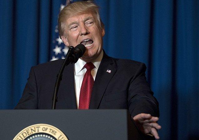 特朗普希望朝鲜想要和平解决朝鲜半岛局势