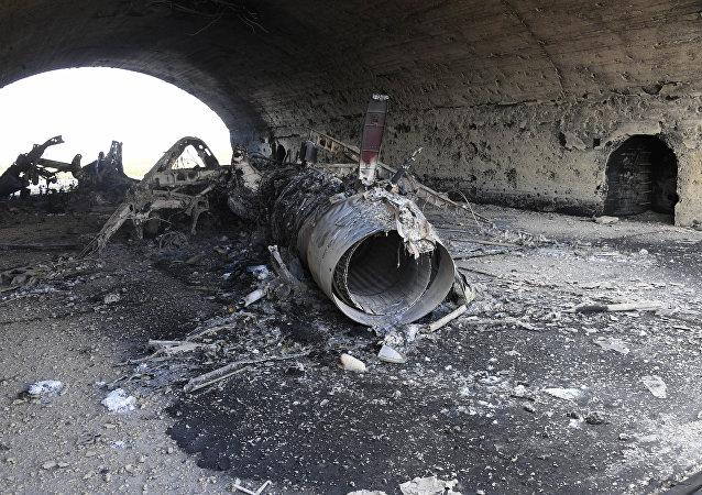 美国打击叙利亚空军基地是在向中国施压