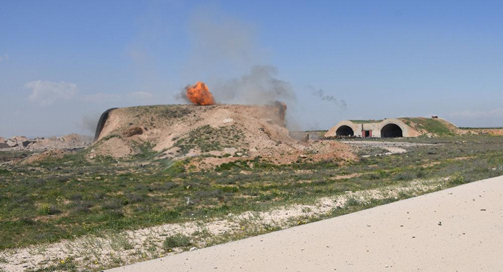 4月17日凌晨叙沙伊拉特空军基地虚惊一场,该国没有遭到任何袭击