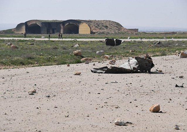消息人士:美对叙空军基地打击死难者中有4名儿童