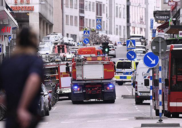 据克宫消息,俄总统普京就斯德哥尔摩恐袭向瑞典国王表示慰问