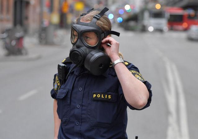 因瑞典冲撞人群事件而被捕男子涉嫌实施恐袭