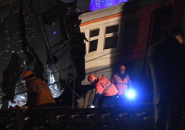 仍有5名莫斯科火车事故受伤者中留在医院