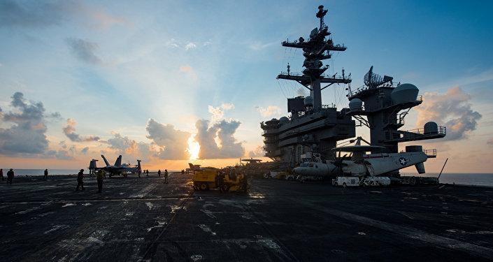 美「卡爾•文森」號航母將無限期留在朝鮮半島