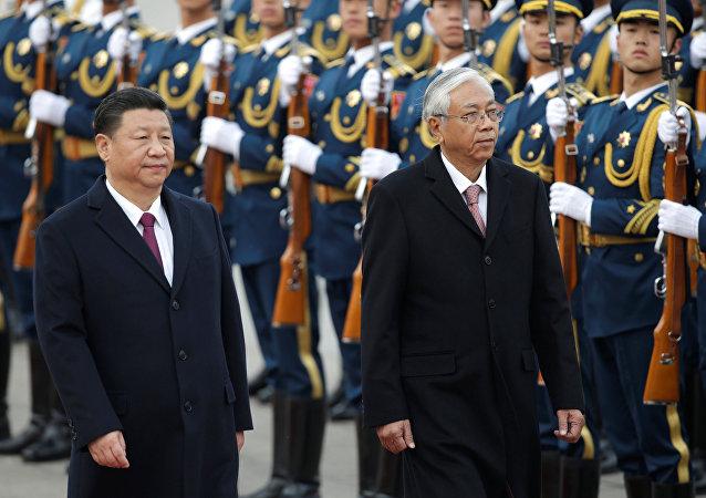 中国国家主席:中方高度重视发展与缅甸的关系