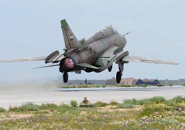 叙利亚军飞机