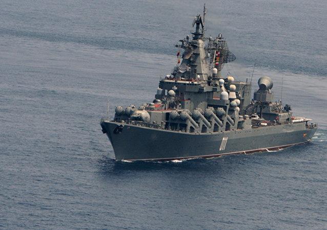 俄太平洋舰队支队离开泰国继续远航