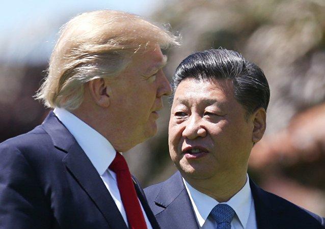 美国总统声明:无论中国是否参与,都将解决朝鲜问题