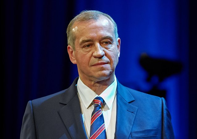 俄伊尔库茨克州长 谢尔盖•列夫琴科