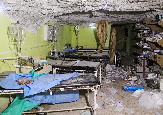叙无国界医生组织医院遭受炸弹袭击