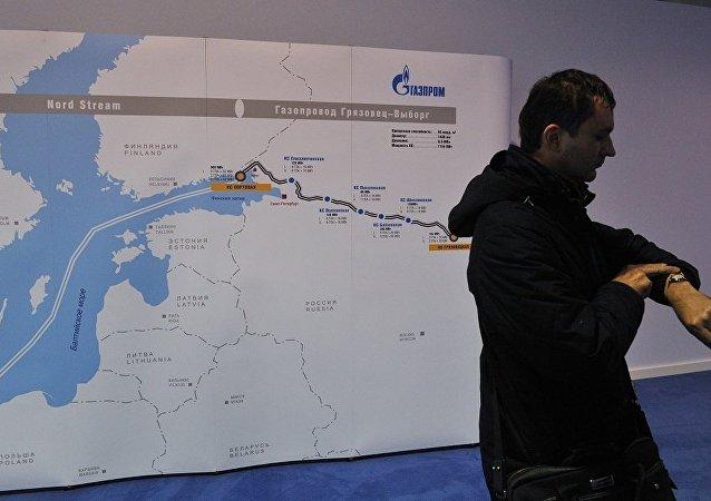 Nord Stream 2公司计划于2018年第二季度开始建设北溪2号天然气管道