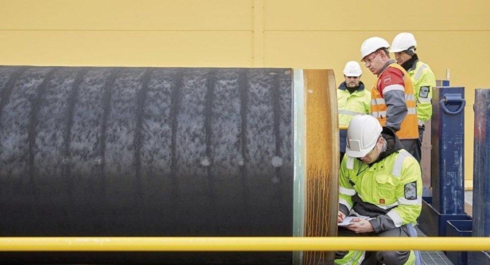 """德国将于近期向""""北溪-2""""项目再颁施工许可"""