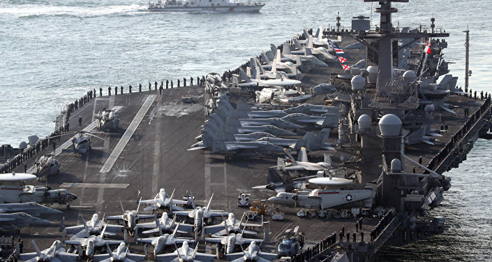 心理战?有意还是无意?美航母行踪误会 白宫推责国防部