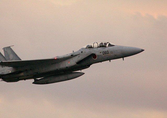 日因美F-15坠机而要求其遵守飞行安全