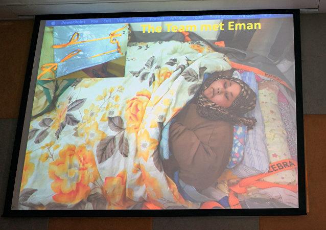 体重达500公斤的埃及妇女阿提(Eman Ahmed Abd El Aty)