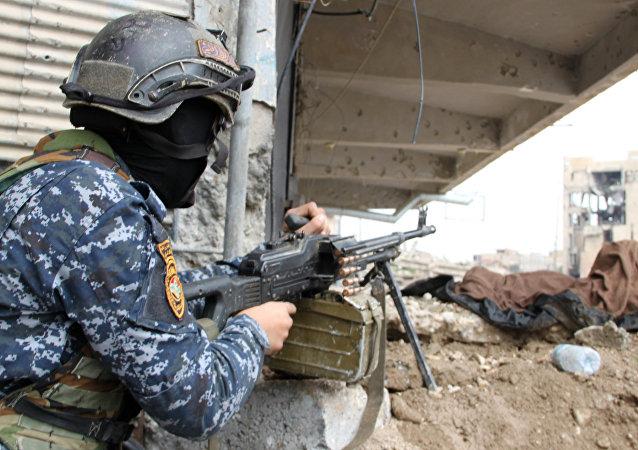 伊拉克军人