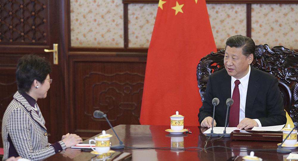 习近平高度评价新港首林郑月娥的工作能力