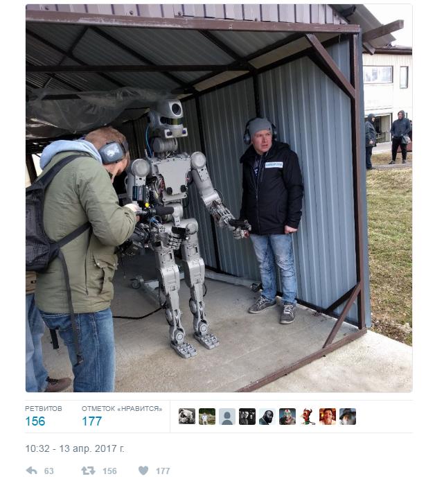 人形机器人费多尔