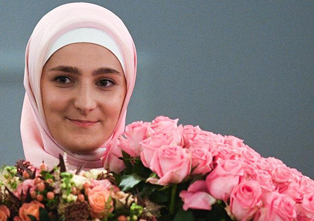 俄车臣领导人长女结婚了