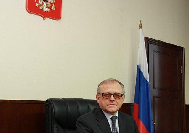 俄罗斯驻朝鲜大使亚历山大·马采戈拉