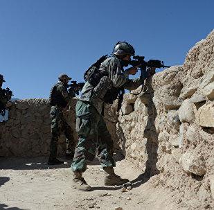 阿富汗局势