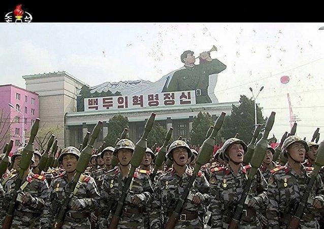 平壤大阅兵