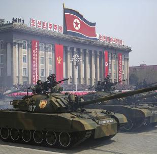 朝鲜阅兵式