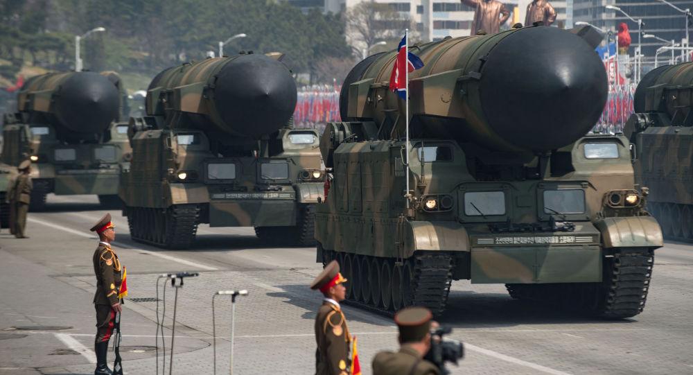 朝鲜准备反击美国的任何军事行动