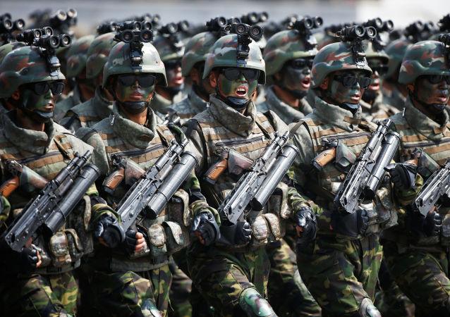 """媒体:朝鲜成立""""特种战术部队"""