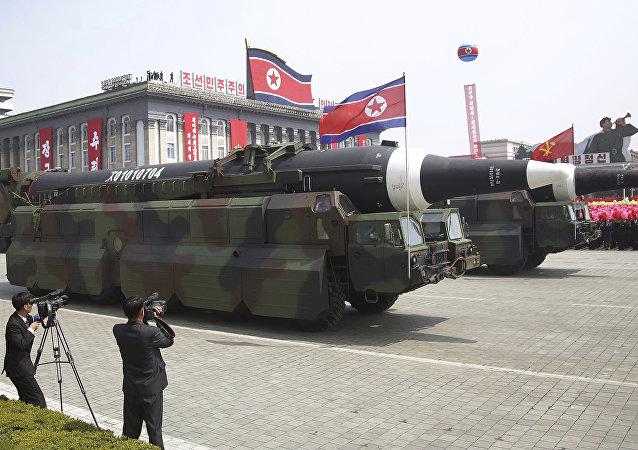 美国防部:朝鲜尚未试验携带核弹头的洲际弹道导弹
