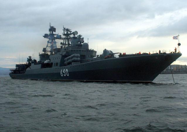 约100艘俄军舰在各全球海洋热点执行任务
