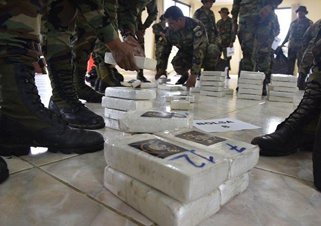 哥斯达黎加查获近一吨可卡因